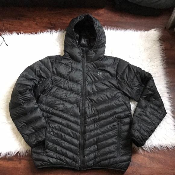 5e365224a216 Nike Black Jacket 550 Down L form Men s. M 5bc4ffc195199630e3068fbb